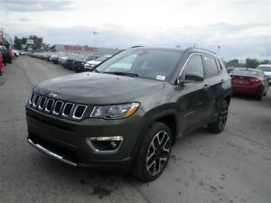 2017 Jeep Compass Limited | Leather | Backup Camera | Moonroof