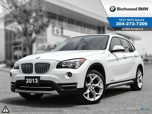2013 BMW X1 28i Premium Package! Park Distance Control! Panora
