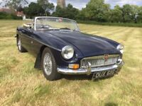MGB Roadster - Overdrive - Wire Wheels - 1969