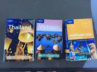 Lonely planets south east Asia / Vietnam / Thailand guide books
