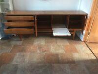Wooden oak sideboard