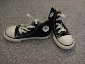 Converse high tops aize 9 infants