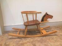 1970's Toddler Rocking Horse