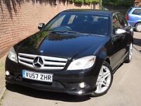 MERCEDES-BENZ C220 CDI SPORT AMG AUTO 2008/57 FOR SALE!!!!