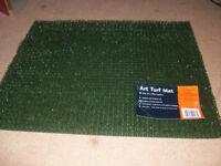 Unused Golf Winter or Autumn Fairway Mat Plastic Grass