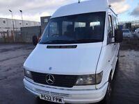 Mercedes Sprinter 312D mwb Mini Bus 12 seats