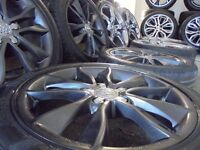 "17"" GENUINE S LINE ALLOYS WHEELS gunmetal EDITION ronal audi vw golf a3 caddy seat r32 s3 s line"