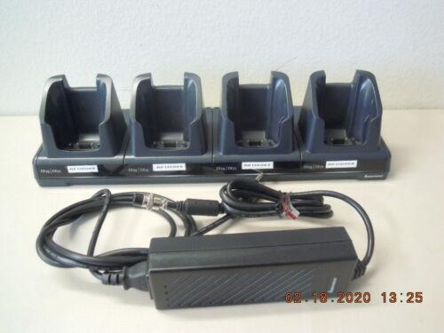 Intermec 1002UU04 4-Slots CK70 CK71 Charger FlexDock Craddle + Power Adapter