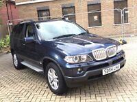 BMW X5 3.0 D DIESEL AUTOMATIC NEWER SHAPE GREAT DRIVE SPACIOUS MOT TV 4X4 JEEP NOT FREELANDER X3 ML