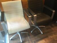 Hairdressing Chairs (Pietranera) interchangeable bespoke covers