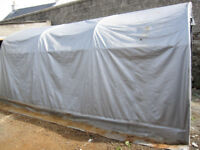 Large storage shelter car port 9' x 17'