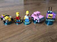 Lego Dimensions the Simpsons figures & discs