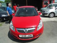 VERY LOW MILEAGE VAUXHALL CORSA DESIGN 1.3 CDTI FULL MOT