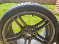 2 front 19' Bmw alloy wheels