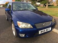 2000 Lexus IS 200 long mot 6 speed one owner car