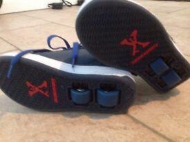 Sidewalk Sport Hi Top Boys Skate Shoes (c13)