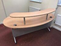 Large Reception Style Desk