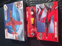 Meccano Special edition Red Arrow &Airfix Red Arrow Gnat Starter Set