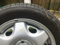 Vauxhall Astra Spare Wheel and Tyre.