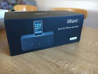 *Like new* iWantit iPhone/ipod dock original packaging