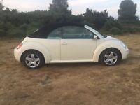 Convertible VW Beetle 1.9 tdi 2007