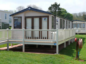 Swift Moselle 38 Foot X 12 Foot 2 Bedroom Model Located at Hoburne Devon Bay Paignton