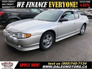 2005 Chevrolet Monte Carlo SUPER CHARGED | LEATHER | SUNROOF | L