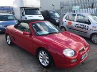 2001 Y MGF CONVERTIBLE SOFTOP RED MG OWNERS CLUB CAR LOTS OF HISTORY VERY TIDY **REDUCED**