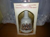 very rare Prince Charles and Lady Diana 1981scotch bell