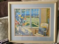 Reduced!! LARGE FRAMED PICTURE, VERY ATTRACTIVE PICTURE,IN EXCELLENT CONDITION