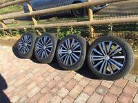 4 genuine vw passat 2011 minneapolis alloy wheels and tyres