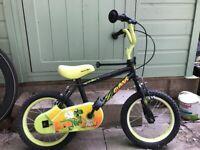 "Childs bike size 14"""