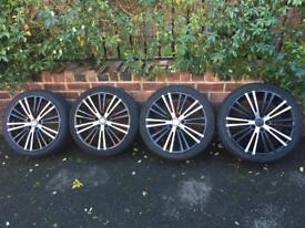 VW GOLF 18 inch Alloy Wheels