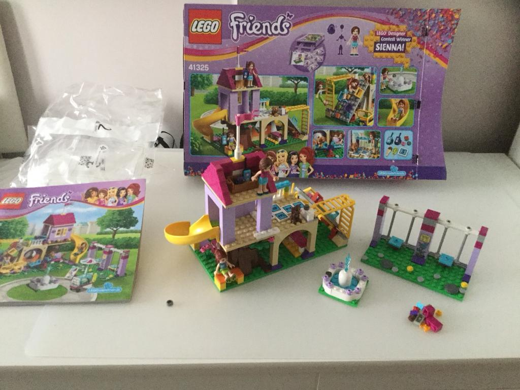 Lego Friends Heartlake City Playground Set Boxed And Instructions