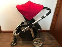 Icandy apple 2 pear stroller pushchair and cary cot
