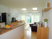 1 bedroom flat with large private garden
