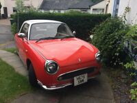 Nissan Figaro -Classic 1991 in good condition for age