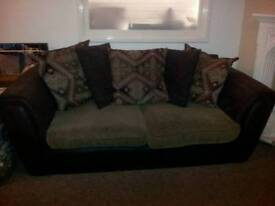 sofa for sale 2 x 3 seater and armchair