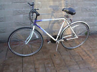 """Raleigh Pioneer Classic Gents Bike. 12 Gears. 28"""" Wheels. Ultra Comfort Saddle. Stand."""