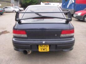 Subaru Impreza WRX Sti High Level Boot Spoiler 93-01