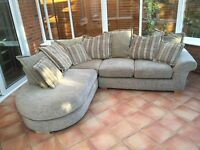 Large Green Corner Sofa for £15