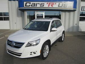 2009 Volkswagen Tiguan HIGHLINE AWD LEATHER MOON ROOF 109K!