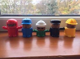 Ikea mix and match men toys