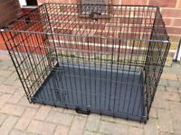 Large Dog Crate 2 opening doors