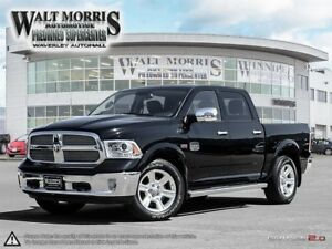 2015 Ram 1500 LONGHORN: ACCIDENT FREE, ONE OWNER VEHICLE