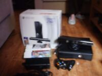 XBOX 360 KINECT - 8 GAMES INCLUDED!!