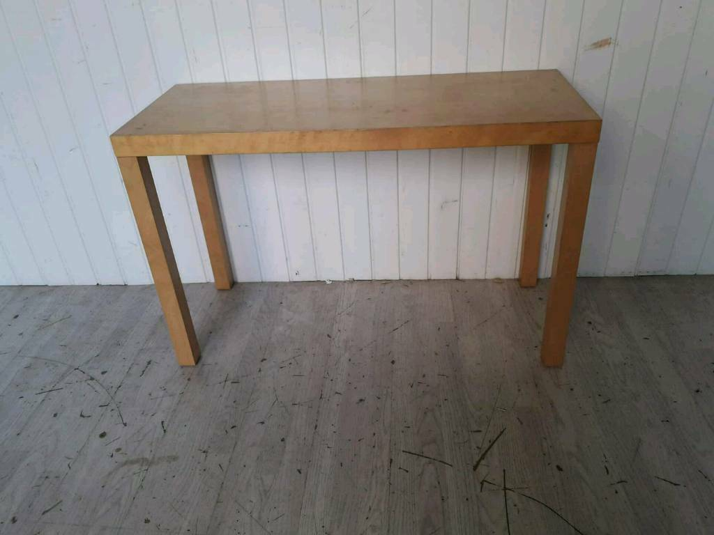 Sensational Ikea Beech Veneer Console Table In Glasgow Gumtree Squirreltailoven Fun Painted Chair Ideas Images Squirreltailovenorg