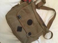 Brand new Retro canvas messenger bag.
