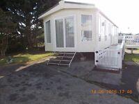 Holiday Home at Haven Caravan Park, Marton Mere, (Pemberton Marlow 2014) 2 Bedroom, 6 Berth.