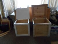 lots of pine to go very cheap BEDSIDE TABLES COFFEE TABLES OTTERMANS